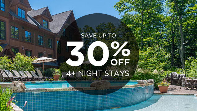 Save up to 30% Off Summer Stays